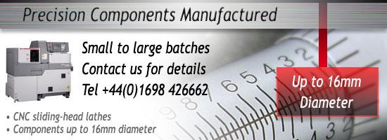Precision Component Machining Service